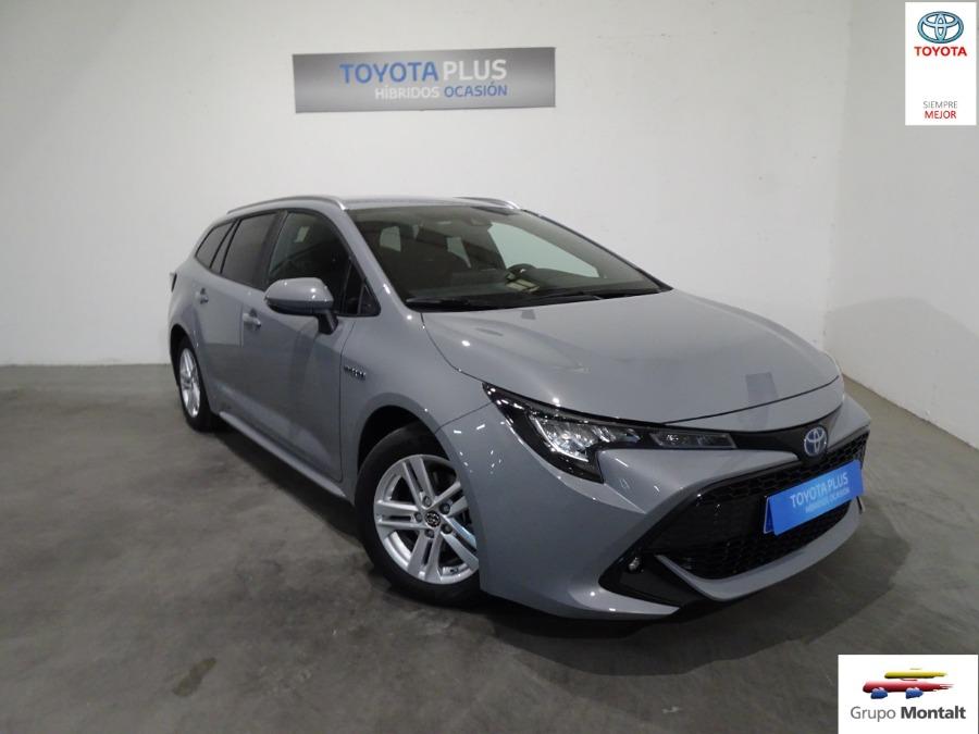 TOYOTA Corolla Gris / Plata Eléctrico / Híbrido Automático Familiar 5 puertas 2019