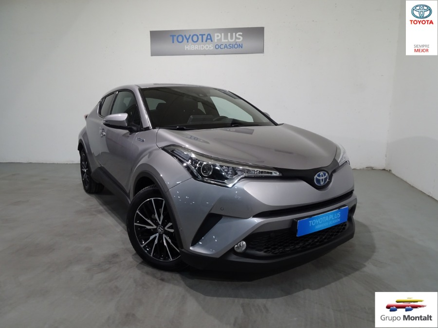 TOYOTA C-HR Gris / Plata Eléctrico / Híbrido Automático Berlina 5 puertas 2018