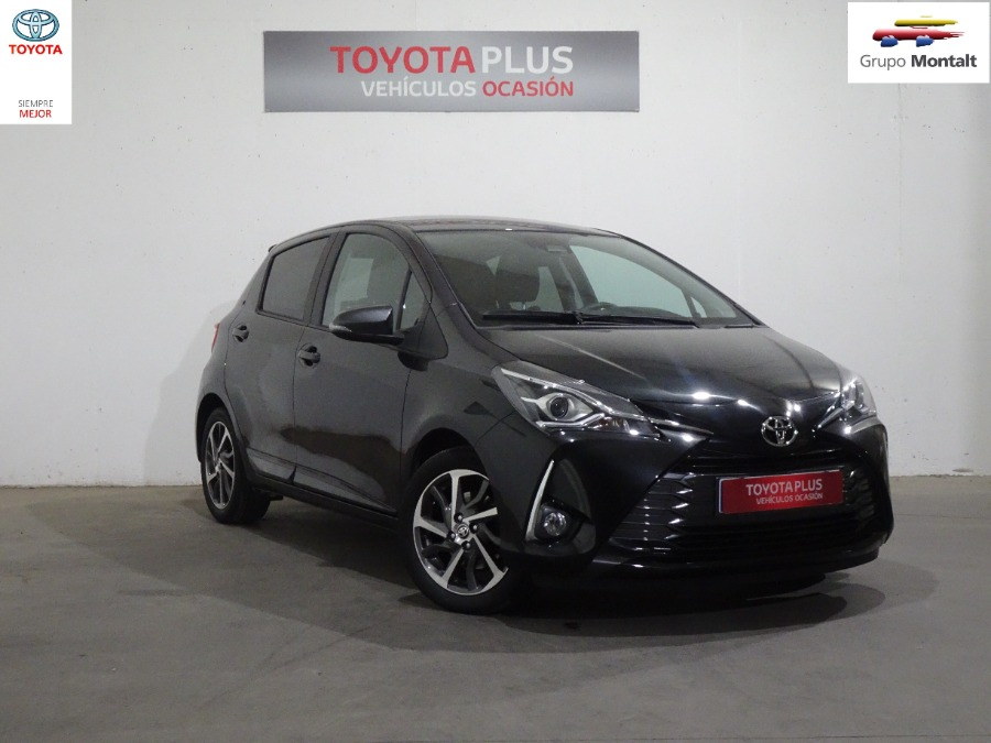 TOYOTA Yaris Negro Gasolina Manual Berlina 5 puertas 2019