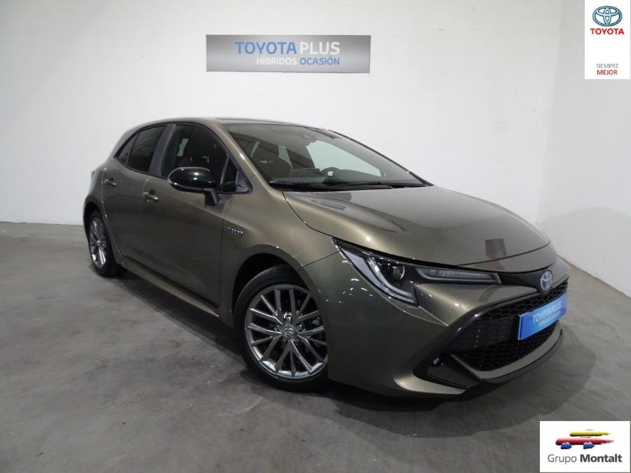 TOYOTA Corolla Verde Eléctrico / Híbrido Automático Berlina 5 puertas 2019