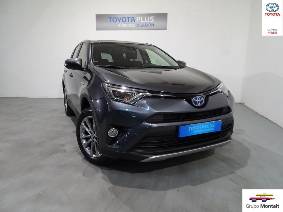 TOYOTA Rav4 Gris / Plata Eléctrico / Híbrido Automático 4x4 SUV 5 puertas 2018