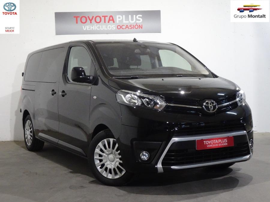 TOYOTA Proace Verso Negro Diesel Automático Monovolúmen 5 puertas 2018