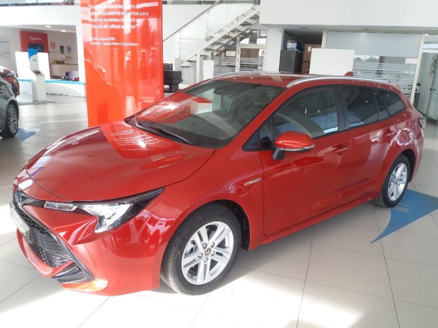 TOYOTA Corolla Rojo Eléctrico / Híbrido Automático Familiar 5 puertas 2020
