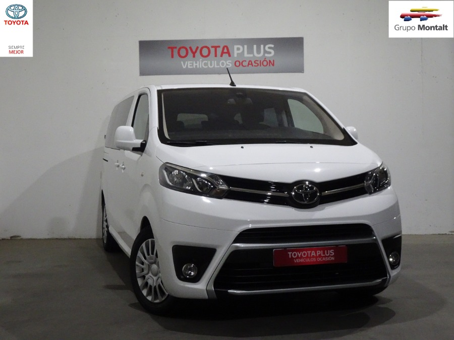 TOYOTA Proace Verso Blanco Diesel Automático Monovolúmen 5 puertas 2018