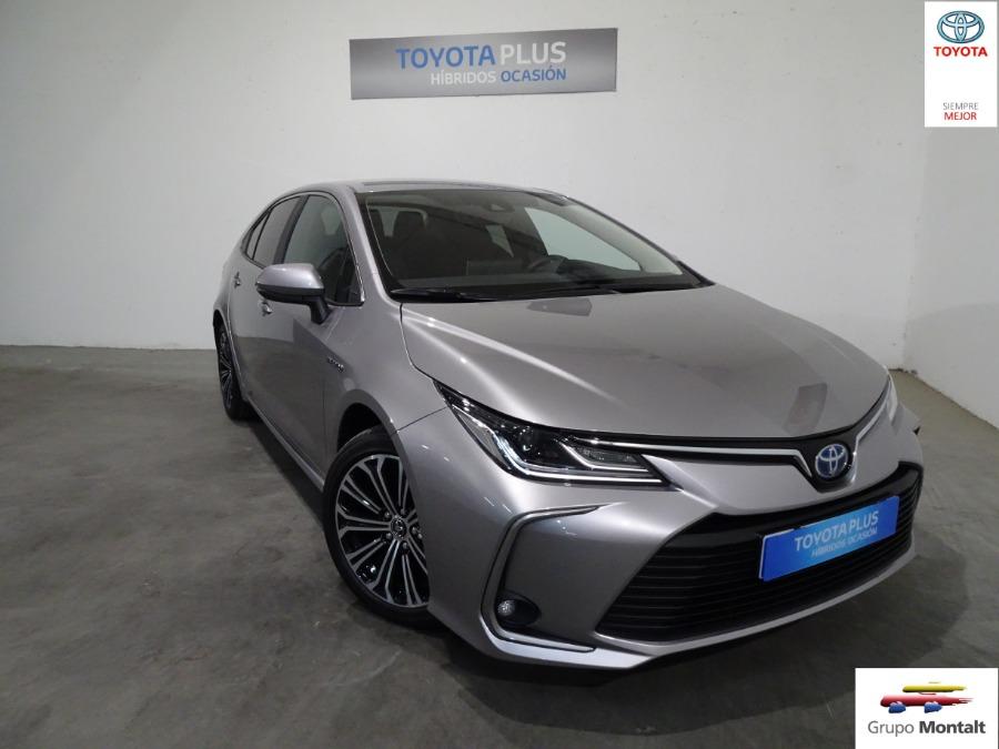 TOYOTA Corolla Gris / Plata Eléctrico / Híbrido Automático Berlina 4 puertas 2019