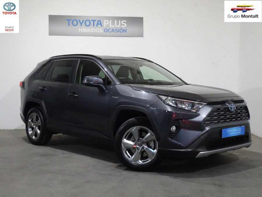 TOYOTA Rav4 Gris / Plata Eléctrico / Híbrido Automático 4x4 SUV 5 puertas 2019