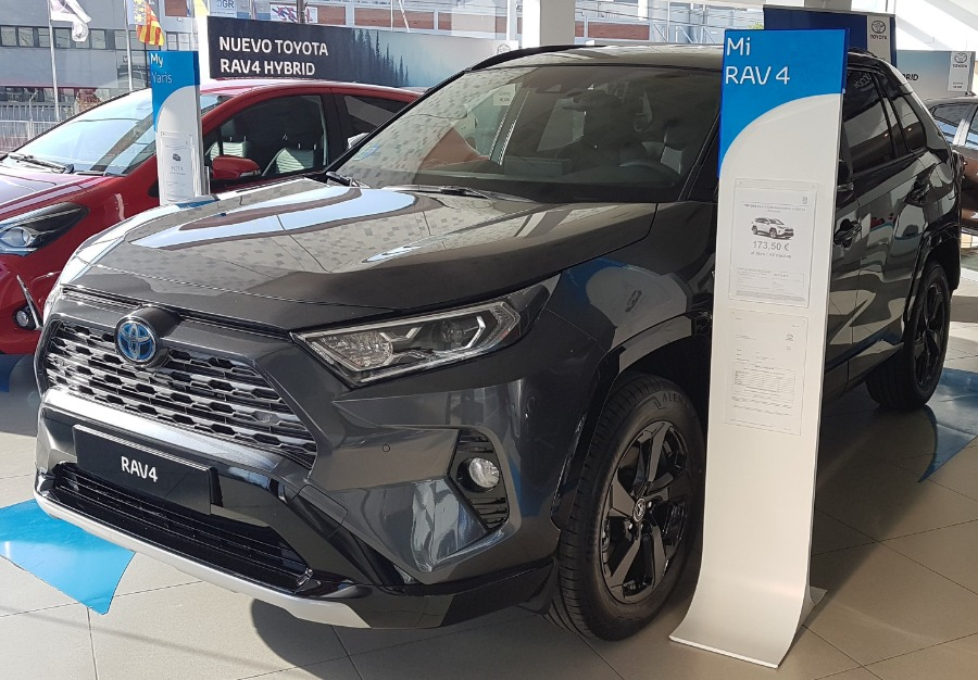TOYOTA Rav4 Gris / Plata Eléctrico / Híbrido Automático 4x4 SUV 5 puertas 2020
