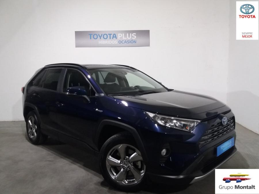 TOYOTA Rav4 Azul Eléctrico / Híbrido Automático 4x4 SUV 5 puertas 2019