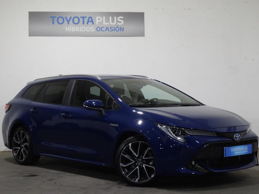 TOYOTA Corolla Azul Eléctrico / Híbrido Automático Familiar 5 puertas 2019