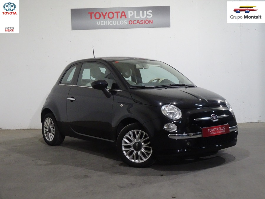 FIAT 500 Negro Gasolina Manual Berlina 3 puertas 2015