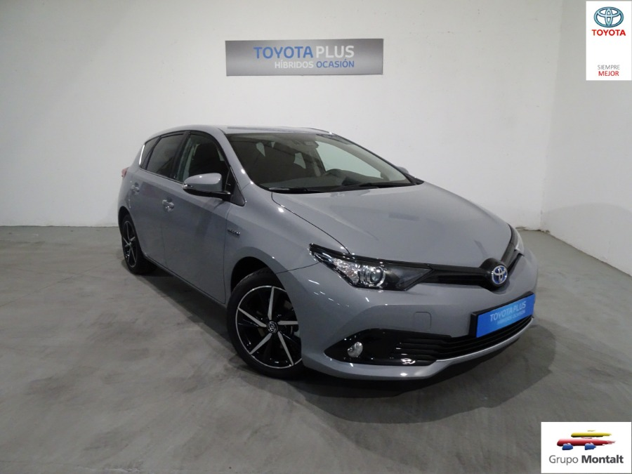 TOYOTA Auris Gris / Plata Eléctrico / Híbrido Automático Berlina 5 puertas 2018