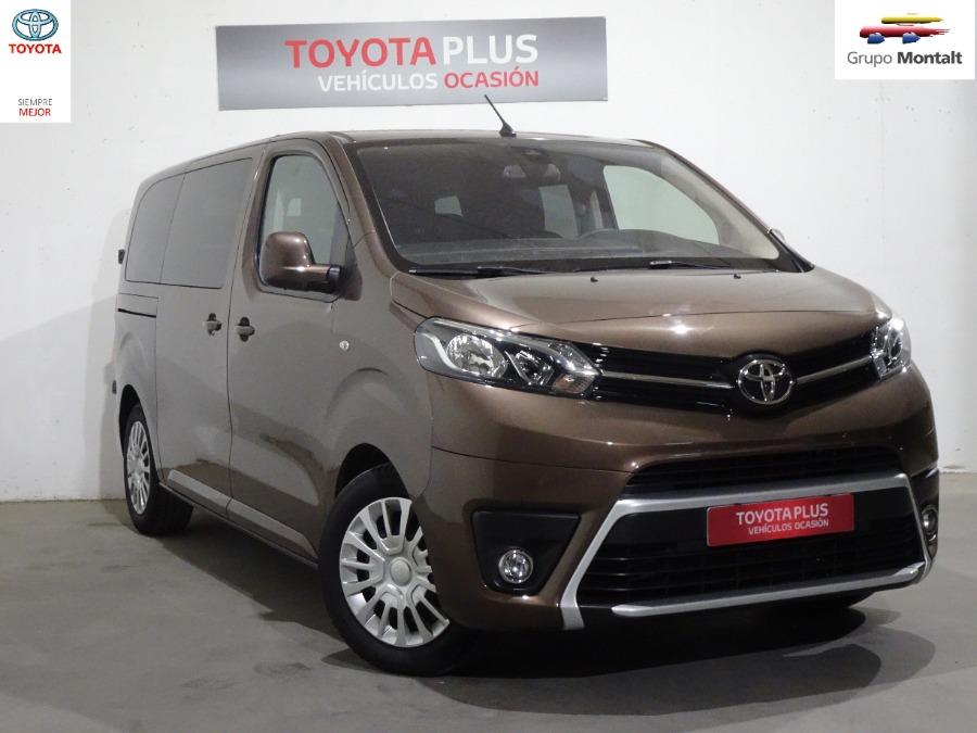 TOYOTA Proace Verso Marrón Diesel Automático Monovolúmen 4 puertas 2018