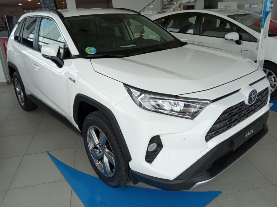 TOYOTA Rav4 Blanco Eléctrico / Híbrido Automático 4x4 SUV 5 puertas 2020
