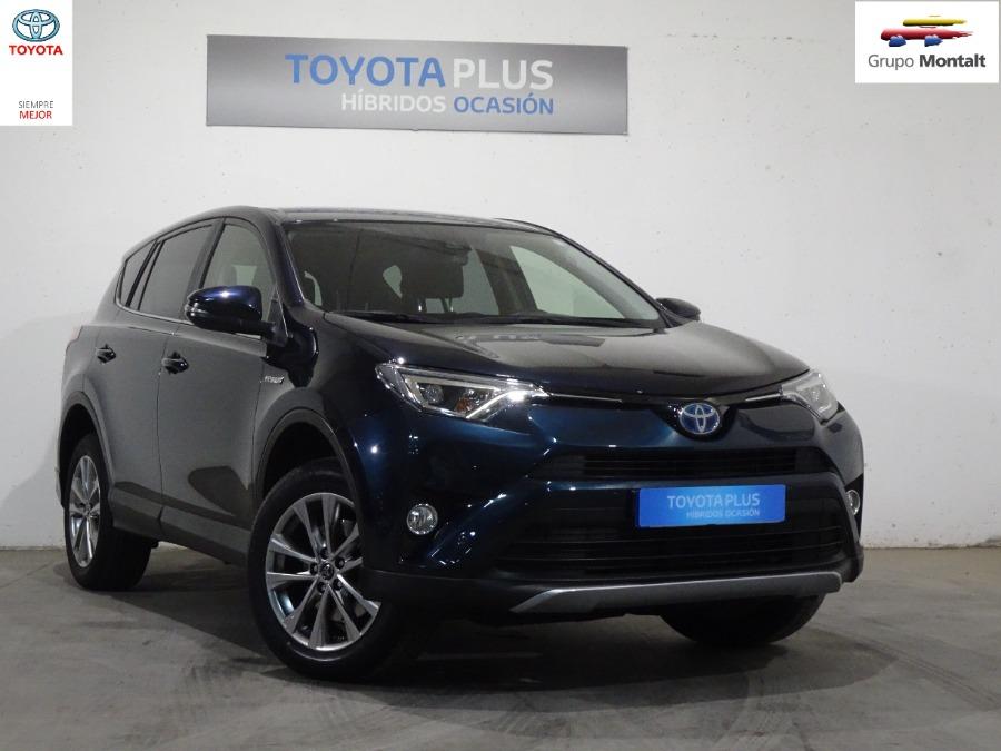 TOYOTA Rav4 Azul Eléctrico / Híbrido Automático 4x4 SUV 5 puertas 2018