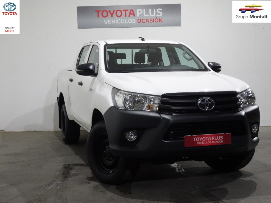 TOYOTA Hilux Blanco Diesel Manual Pick Up 4 puertas 2019