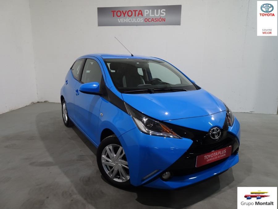 TOYOTA Aygo Azul Gasolina Manual Berlina 5 puertas 2018