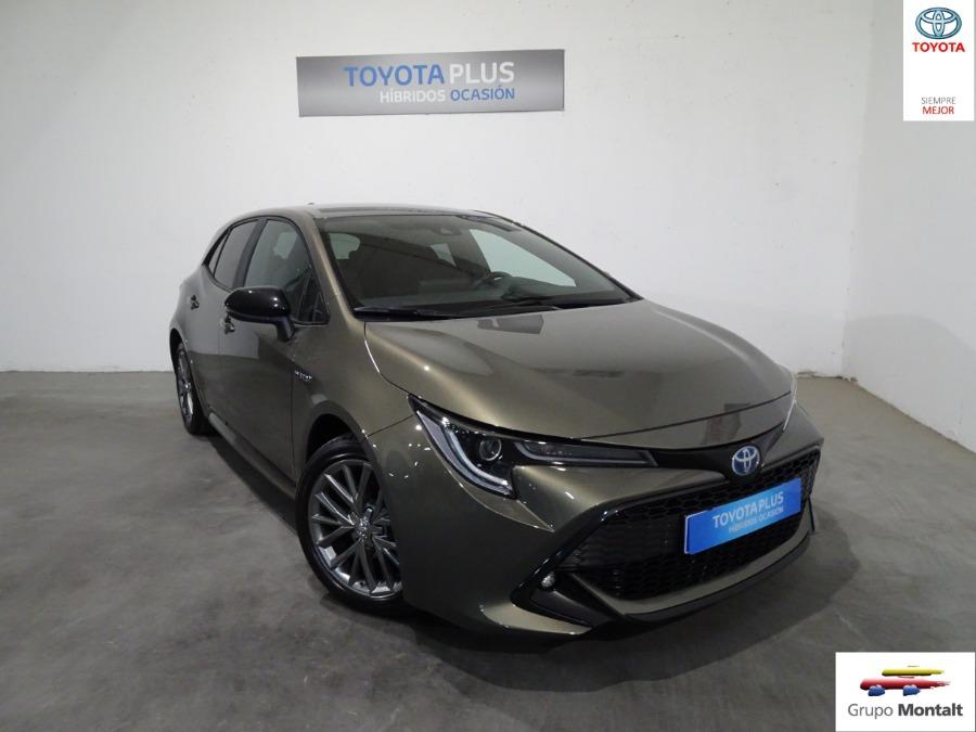 TOYOTA Corolla Gris / Plata Eléctrico / Híbrido Automático Berlina 5 puertas 2019