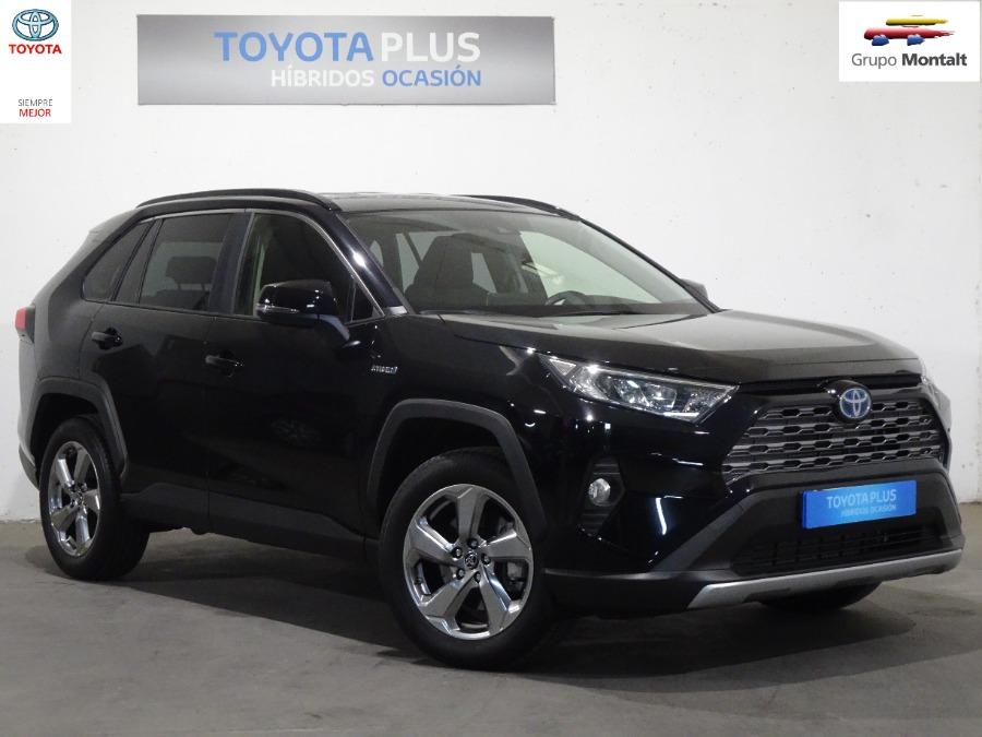 TOYOTA Rav4 Negro Eléctrico / Híbrido Automático 4x4 SUV 5 puertas 2019