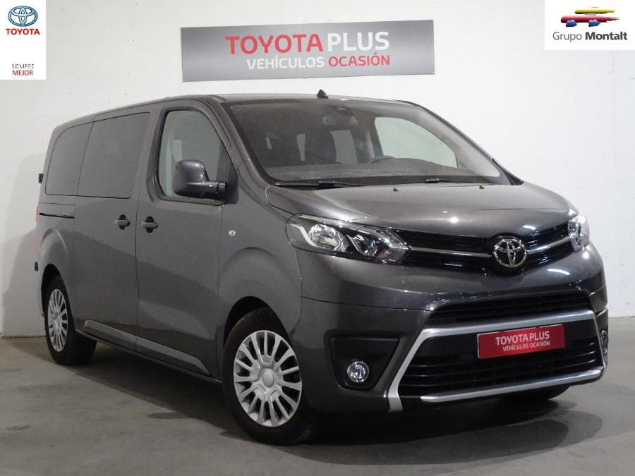 TOYOTA Proace Verso Gris / Plata Diesel Automático Monovolúmen 5 puertas 2018