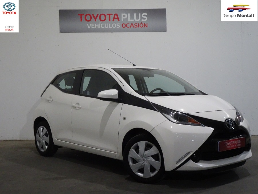 TOYOTA Aygo Blanco Gasolina Manual Berlina 5 puertas 2016