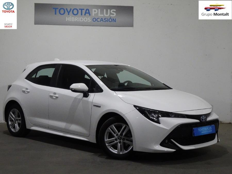TOYOTA Corolla Blanco Eléctrico / Híbrido Automático Berlina 4 puertas 2019