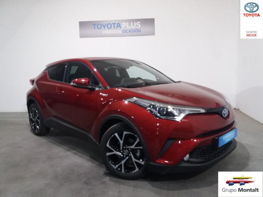 TOYOTA C-HR Granate Eléctrico / Híbrido Automático Berlina 5 puertas 2019