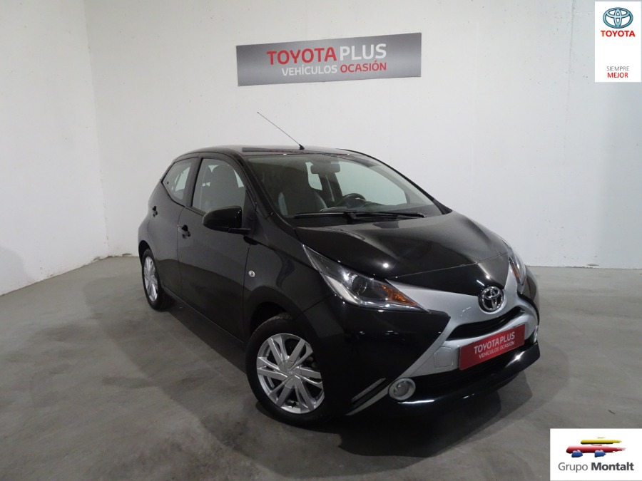 TOYOTA Aygo Negro Gasolina Manual Berlina 5 puertas 2018