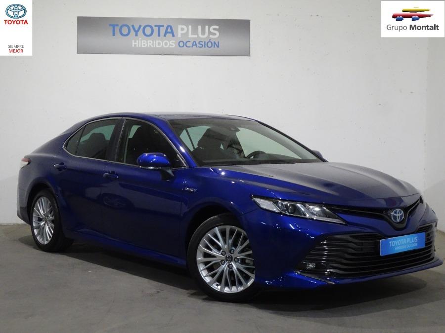 TOYOTA Camry Azul Eléctrico / Híbrido Automático Berlina 4 puertas 2020