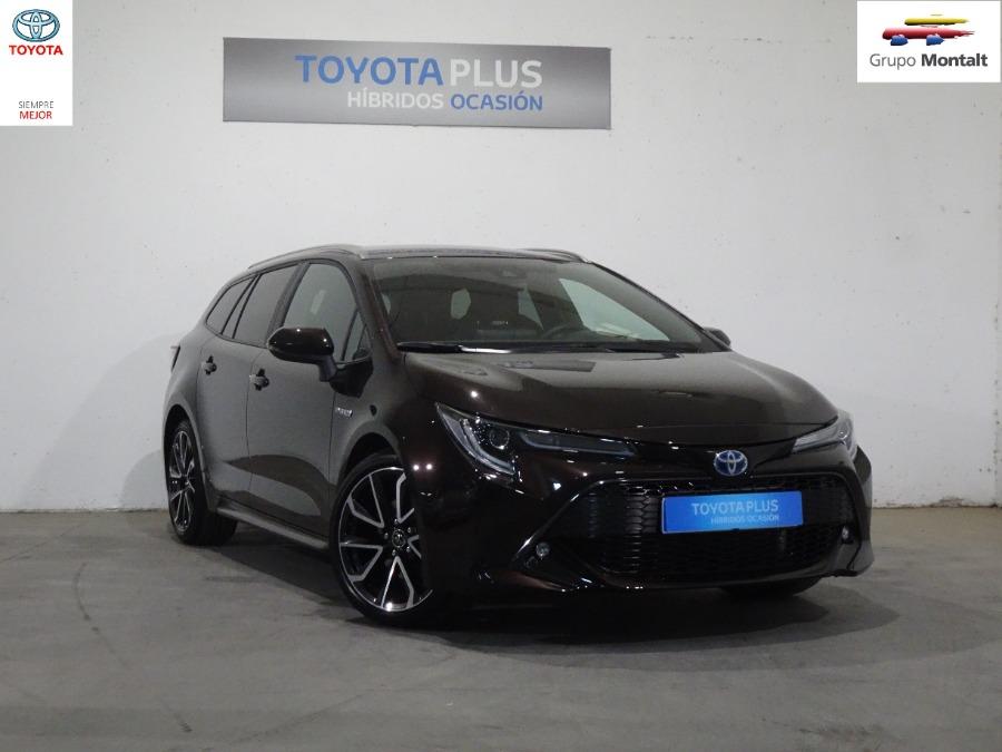 TOYOTA Corolla Marrón Eléctrico / Híbrido Automático Familiar 5 puertas 2020
