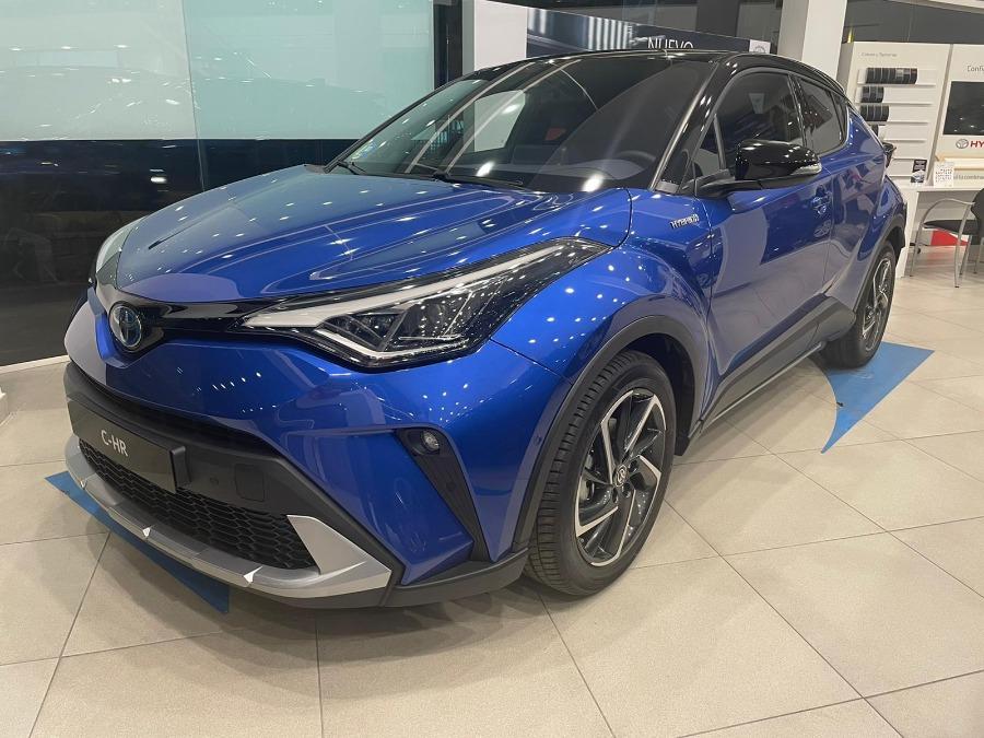 TOYOTA C-HR Azul Eléctrico / Híbrido Automático Berlina 5 puertas 2020