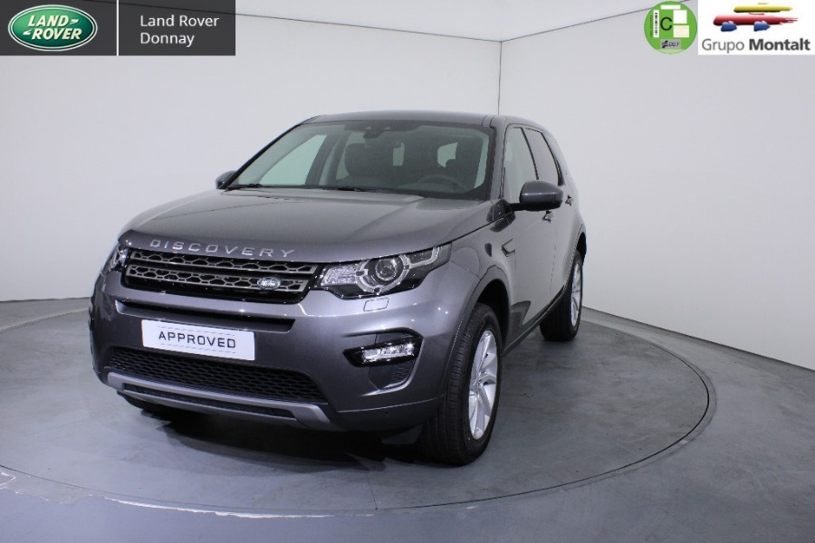 LAND ROVER Discovery Sport Gris / Plata Diesel Automático 4x4 SUV 5 puertas 2019