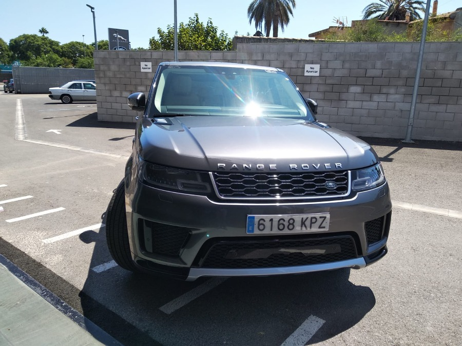 LAND ROVER Range Rover Sport Gris / Plata Diesel Automático 4x4 SUV 5 puertas 2020