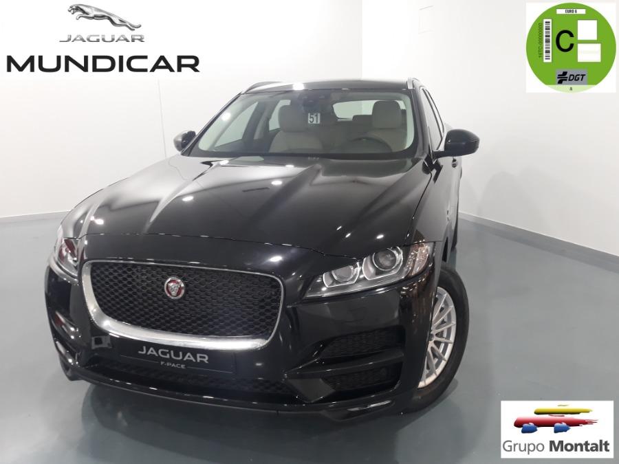 JAGUAR F-Pace Negro Diesel Automático 4x4 SUV 5 puertas 2019