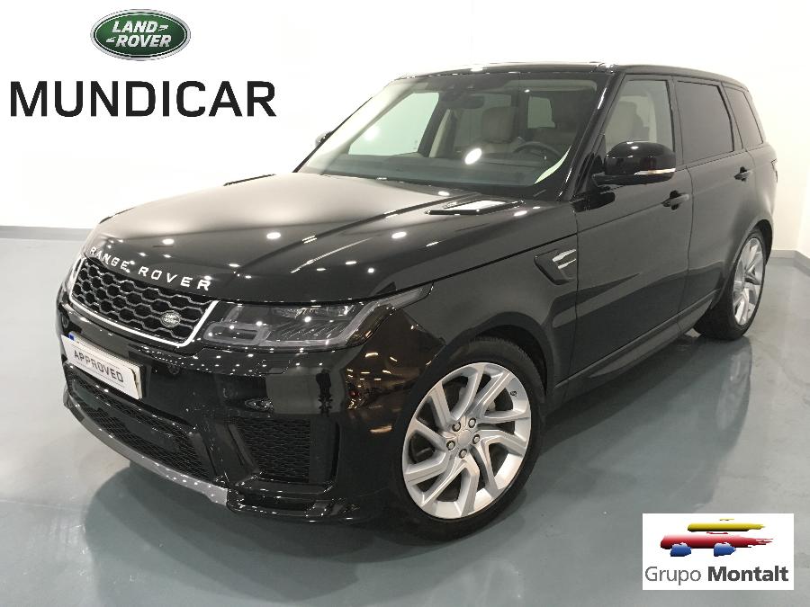 LAND ROVER Range Rover Sport Negro Diesel Automático 4x4 SUV 5 puertas 2019