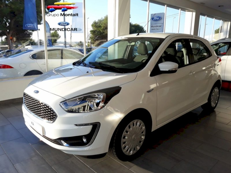 FORD Ka+ Blanco Gasolina Manual Berlina 5 puertas 2018
