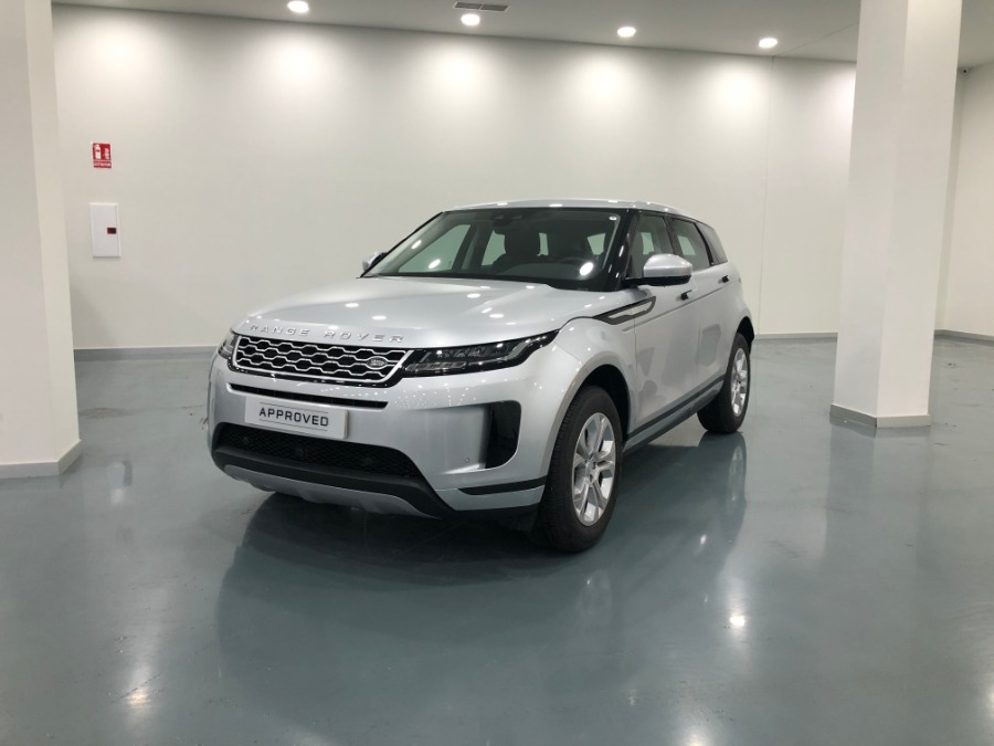 LAND ROVER Range Rover Evoque Gris / Plata Eléctrico / Híbrido Automático 4x4 SUV 5 puertas 2019
