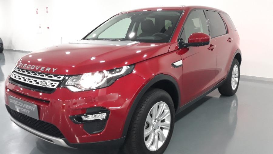 LAND ROVER Discovery Sport Rojo Diesel Automático 4x4 SUV 5 puertas 2016