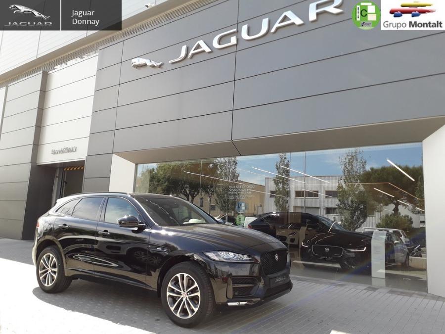 JAGUAR F-Pace Negro Gasolina Automático 4x4 SUV 5 puertas 2019