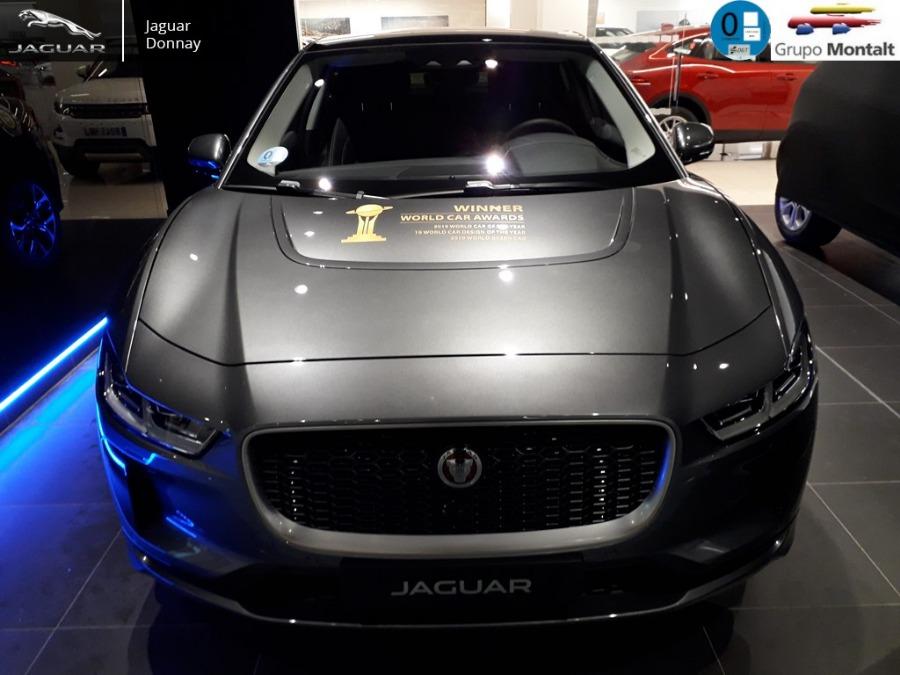 JAGUAR i-Pace Gris / Plata Eléctrico / Híbrido Automático 4x4 SUV 5 puertas 2019