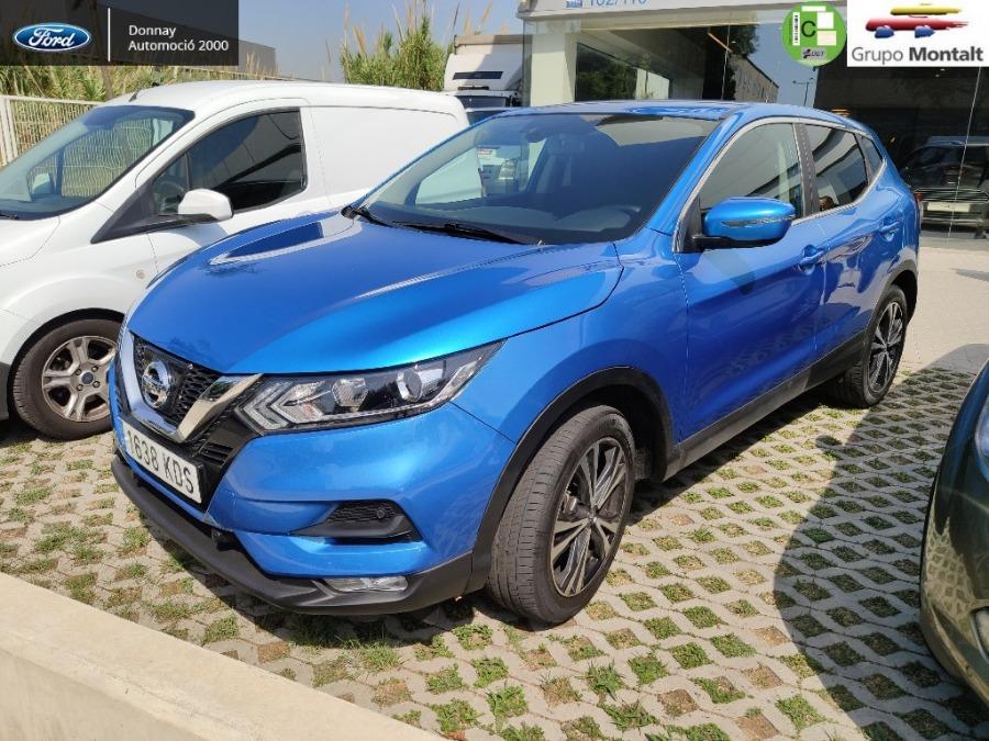 NISSAN QASHQAI Azul Gasolina Manual 4x4 SUV 5 puertas 2017