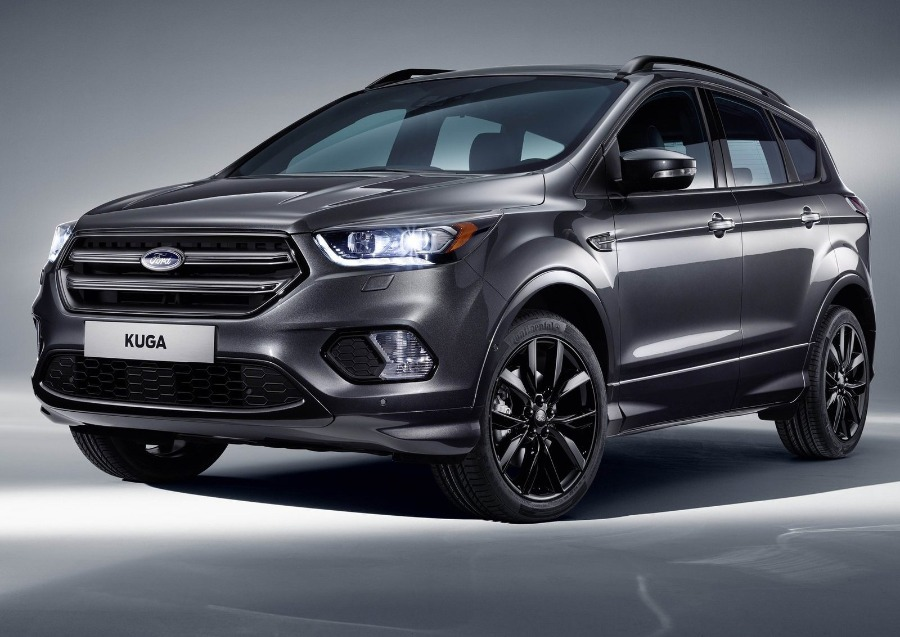 FORD Kuga Negro Gasolina Automático 4x4 SUV 5 puertas 2019