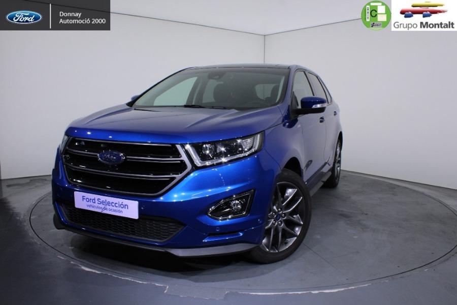 FORD Edge Azul Diesel Automático 4x4 SUV 5 puertas 2018
