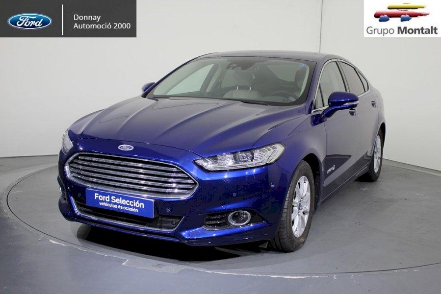 FORD Mondeo Azul Eléctrico / Híbrido Automático Berlina 4 puertas 2018