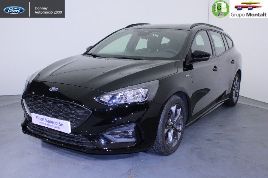 FORD Focus Negro Gasolina Manual Berlina 5 puertas 2019