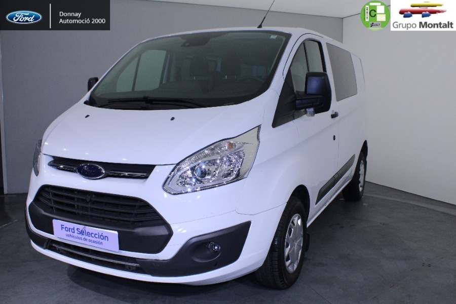 FORD Transit Custom Blanco Diesel Manual Industriales 4 puertas 2018