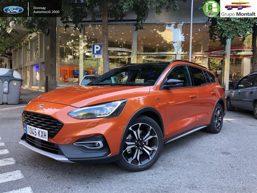 FORD Focus Naranja Gasolina Automático Berlina 5 puertas 2019