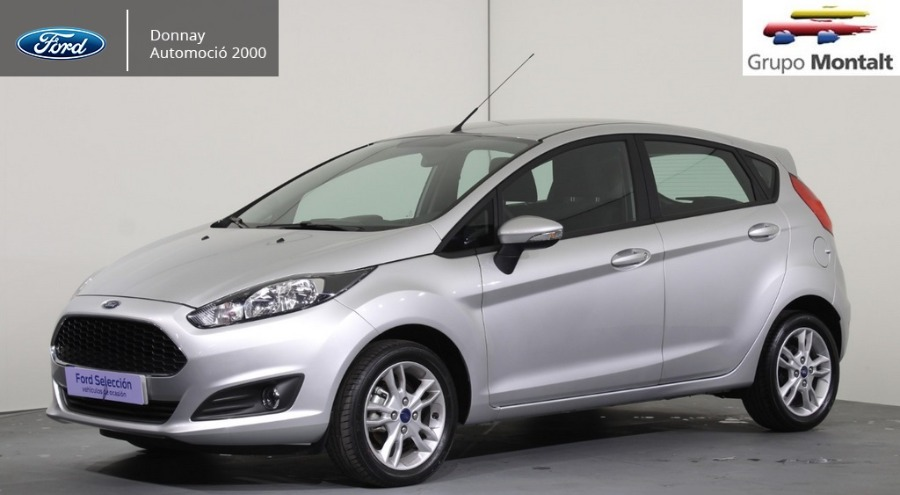 FORD Fiesta Gris / Plata Gasolina Manual Berlina 5 puertas 2017