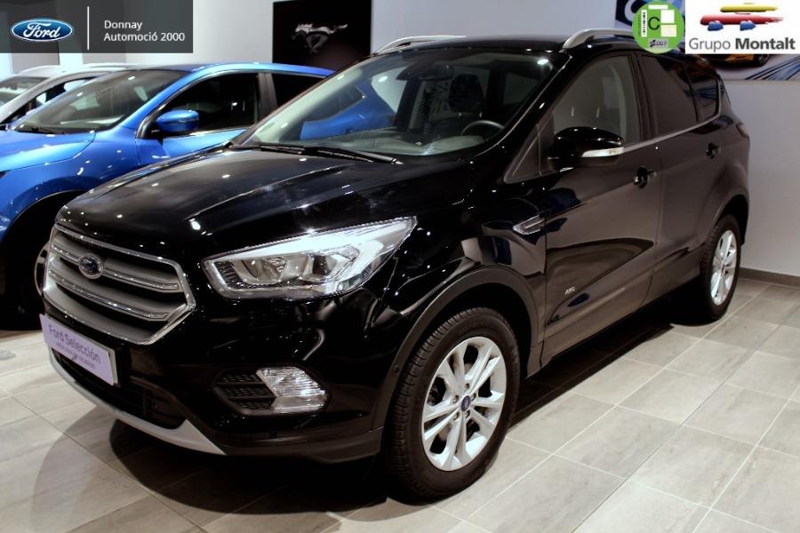 FORD Kuga Negro Diesel Automático 4x4 SUV 5 puertas 2018