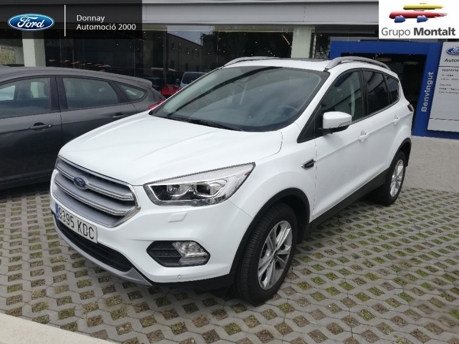 FORD Kuga Blanco Gasolina Manual 4x4 SUV 5 puertas 2018