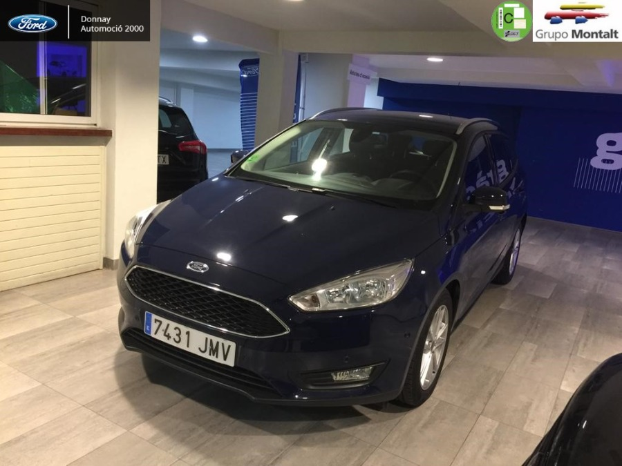 FORD Focus Azul Gasolina Manual Familiar 5 puertas 2016